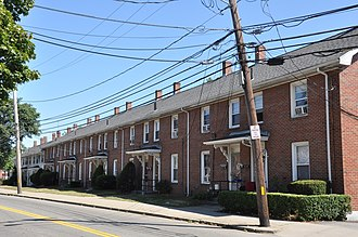 Boston Manufacturing Company Housing - 380–410 River St., 2010 photo
