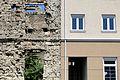 War Ruin alongside New Facade - Mostar - Bosnia and Herzegovina.jpg