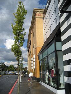 Washington Square (Oregon) shopping mall in the city of Tigard, Oregon, United States