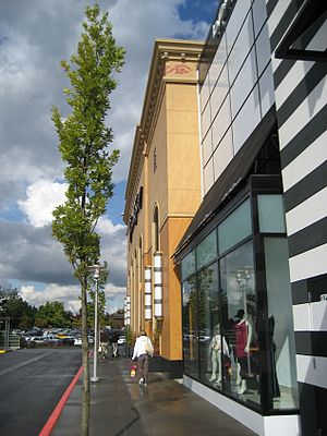 Washington Square (Oregon) - Exterior of the mall's 2005 addition