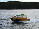 Water Taxi on Sydney Harbour in July 2013.jpg