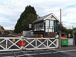 Wateringbury railway station, EG11, August 2013.JPG