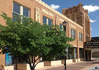 Fox-Watson Theater Building - Watson-Stiefel Theatre.