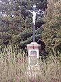 Wayside Cross near chapel in Rokytník 02.jpg