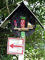 Wegweiser in Kirchzarten am Tarodunum-Rundweg und Kapellenweg des DVV Wandergruppe Stegen.jpg
