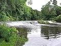 Weir at Harold McCauley Park - geograph.org.uk - 53189.jpg
