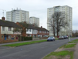 Coley Park - Image: Wensley Road, Reading