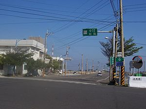West End of County Hwy 171 of Taiwan.JPG