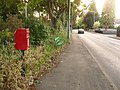 West Moors, postbox No. BH22 36, Pinehurst Road - geograph.org.uk - 1356600.jpg