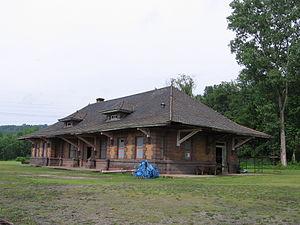 West Pittsburg, Pennsylvania - West Pittsburg Station
