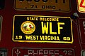 West Virginia 1969 State Delegate license plate.jpg