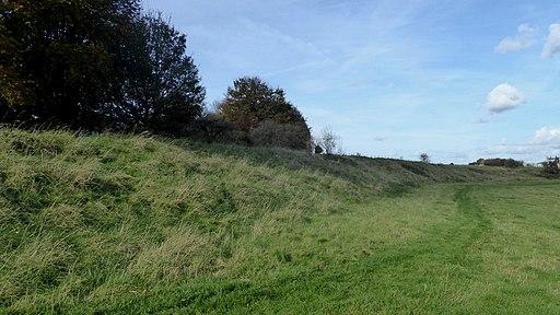 Western wall of Durrington Walls