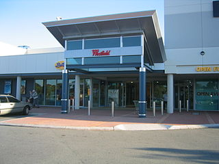 Westfield Whitford City Shopping mall in Western Australia, Australia