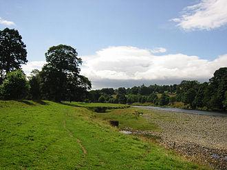 River Tweed - Image: Wfm tweed abottsford