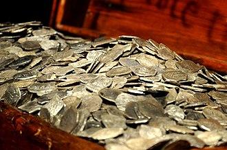 Samuel Bellamy - Image: Whydah gold