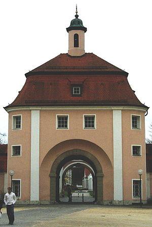 Upper Swabia - Gate of monastery in Wiblingen