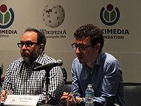 Wikimanía 2015 - Day 2 - Press Conference - LMM - México D.F. (22).jpg