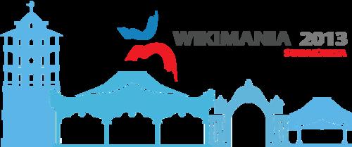 Wikimania 2013 logo Surakarta Candidate.png