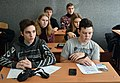 Wikimarathon 2020 in Sievierodonetsk (Secondary School No.5).jpg