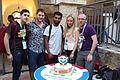 Wikimedia Hackathon Jerusalem Cake IMG 8764.JPG