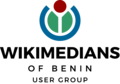 Wikimedians of Benin User Group official logo English.png