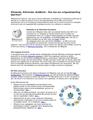 Wikipedia, Wikimedia, GLAMwiki - Wat kan jouw erfgoedinstelling daarmee?.pdf