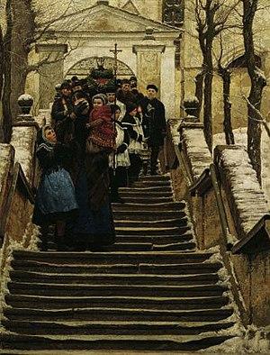 Wilhelm Bernatzik - Image: Wilhelm Bernatzik Winter 1888