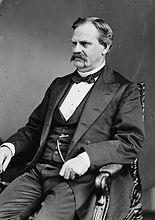 William Adams Richardson, Brady-Handy bw photo portrait, ca1870-1880