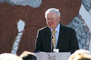 William Deane - Deane in 2011, at the unveiling of an artwork in Canberra
