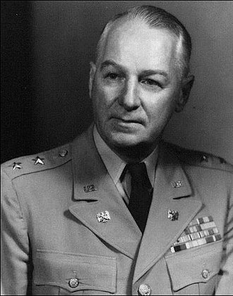 William H. Abendroth - Abendroth as Chief, Army Division, National Guard Bureau, circa 1952