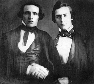 Charles Reed Bishop - Bishop (right) with William Little Lee, 1846