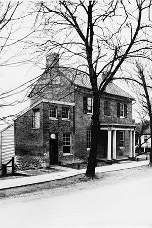 Loudoun County, Virginia - William and Sarah Nettle House, Waterford, Loudoun County