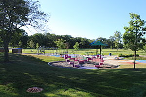 Willow Metropark - Image: Willow metropark children's play area
