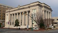 Wilson County NC courthouse from SSW 1.JPG
