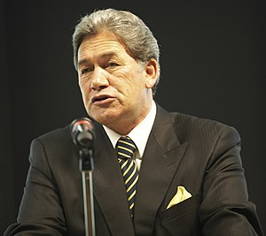 New Zealand First - Winston Peters founded the party in 1993