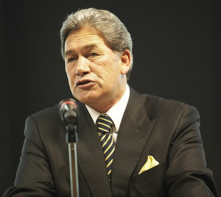 Winston Peters founded the party in 1993 WinstonPetersEuropa.jpg