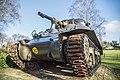 Woensdrecht Onderstal Sherman tank.JPG