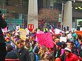 Women's march to denounce Donald Trump, in Toronto, 2017 01 21 -aq (32306113372).jpg
