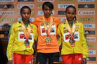 Dawit Seyaum Ethiopian middle-distance runner