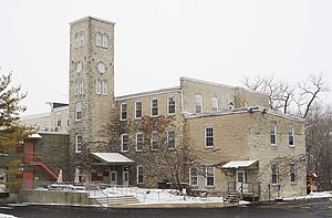 Grafton, Wisconsin - Image: Woolen Mill Grafton Dec 09