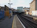 Woolwich Arsenal stn look west.JPG