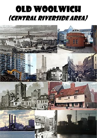 Old Woolwich - Image: Woolwich Riverside collage