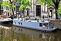 Woonboot Prinsengracht Amsterdam (14710384659).jpg