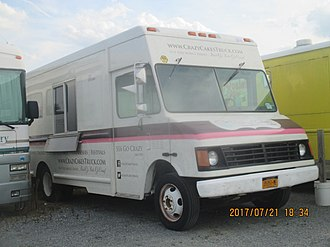 Workhorse Group - Workhorse P42 purposed as a food truck