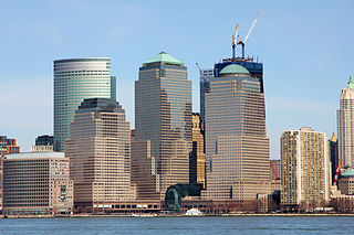 Brookfield Place (New York City) office complex in New York City