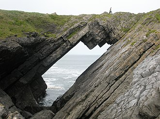 Rhossili - The Devil's Bridge at Worm's Head