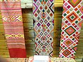 Woven material - Yunnan Nationalities Museum - DSC04062.JPG