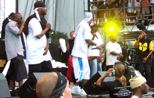 Wu-Tang Clan discography - Members of the Wu-Tang Clan and their affiliates performing at the Virgin Festival in Baltimore.