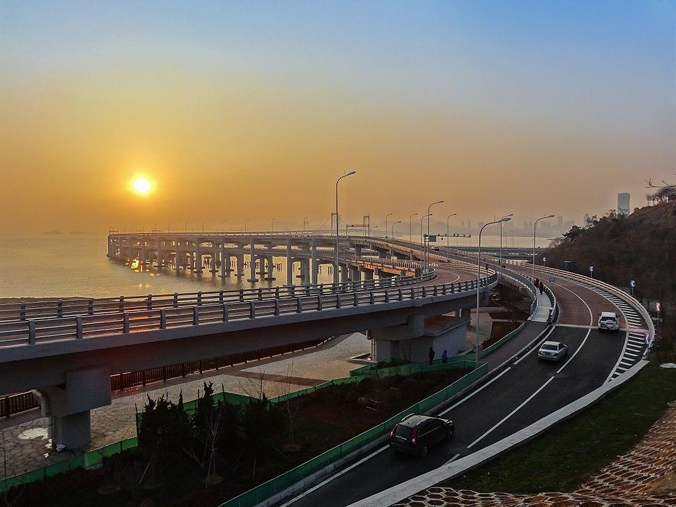 Xinghai Bay Bridge Dalian China