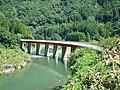 Yabakei line Yamakuni-gawa 2nd brg 2.jpg